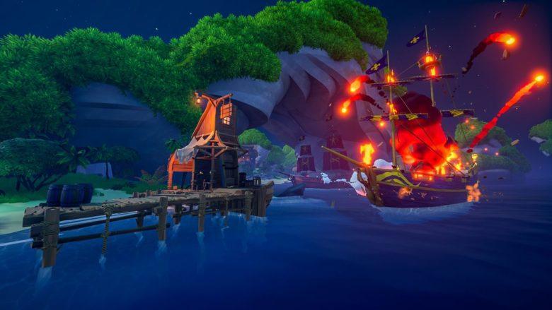 Королевская битва Blazing Sails: Pirate Battle Royale получила зимнее обновление
