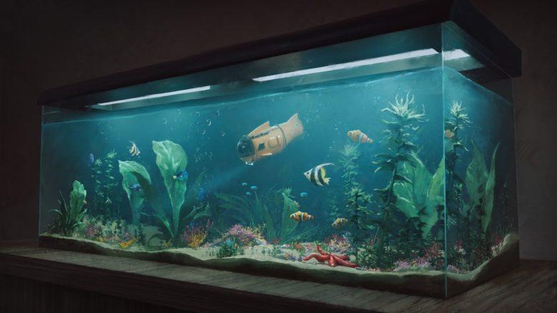 Дебютный геймплей «аквариумного тамагочи» Fishkeeper