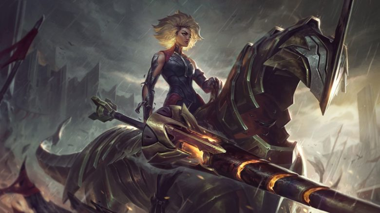Релл, Железная дева – новый чемпион League of Legends