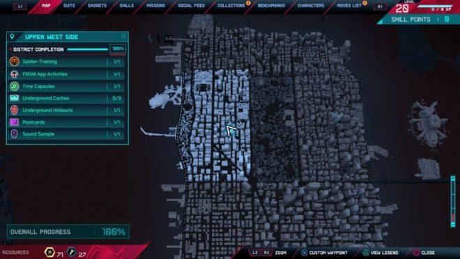 Месторасположение памятника Стэну Ли в Spider-Man: Miles Morales