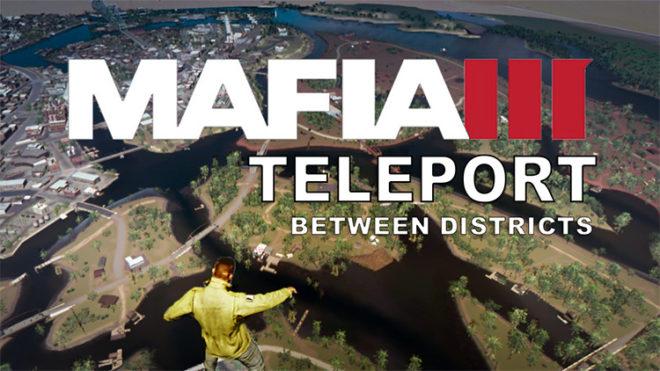 Teleport Between Districts