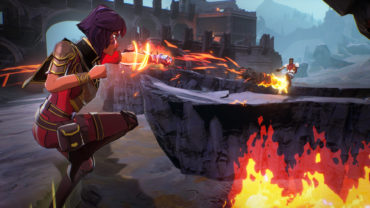 Фэнтезийная королевская битва Spellbreak вышла в Steam