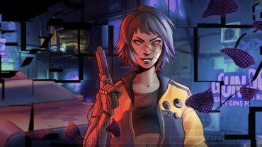 Шутер Glitchpunk сочетает эстетику киберпанка и стиль GTA 2