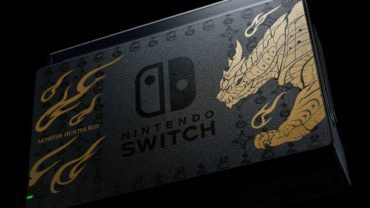 Nintendo выпустит консоль Nintendo Switch в стиле Monster Hunter Rise