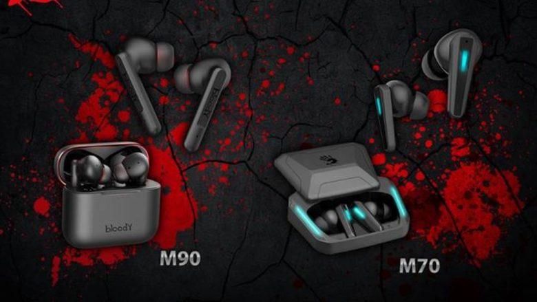 Бренд Bloody представил геймерские TWS-гарнитуры