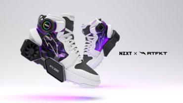 NZXT и RTFKT выпустят кроссовки в стиле игрового PC