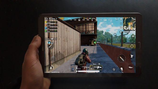 PUBG Mobile на планшете