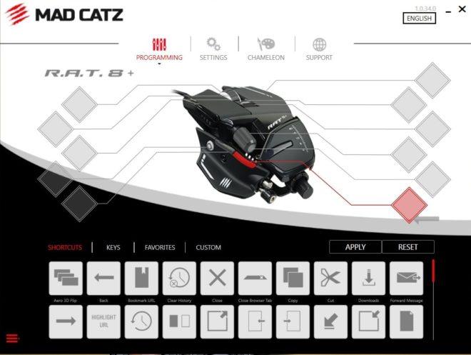 Обзор игровой мыши Mad Catz RAT 8+. Ручной трансформер