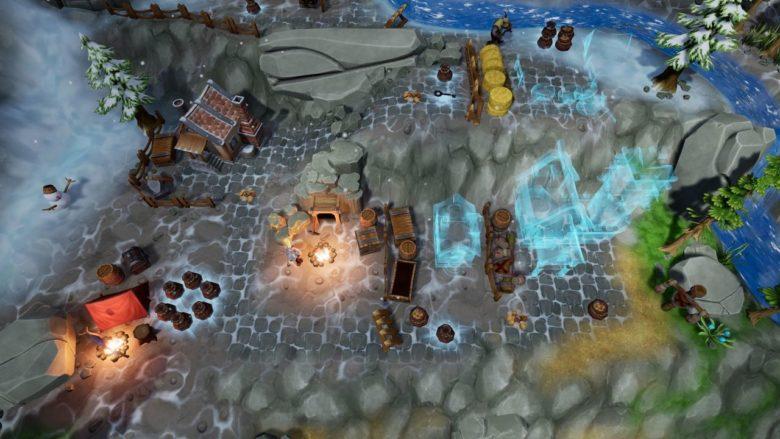 Стратегия о строительстве колонии гномов The Unexpected Quest вышла на Switch