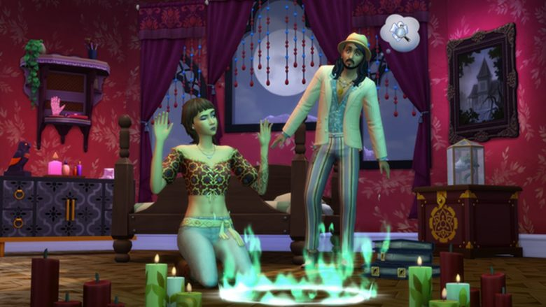 Каталог «Паранормальное» добавит в The Sims 4 участок с привидениями