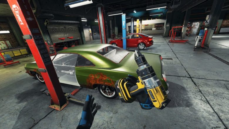 Новый трейлер Car Mechanic Simulator VR