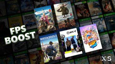 Microsoft представила опцию FPS Boost для консолей Xbox Series X|S