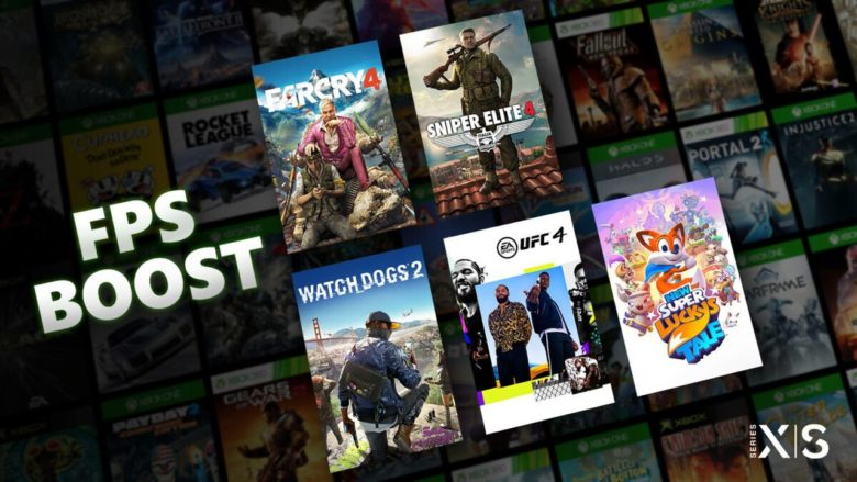 Microsoft представила опцию FPS Boost для консолей Xbox Series X S