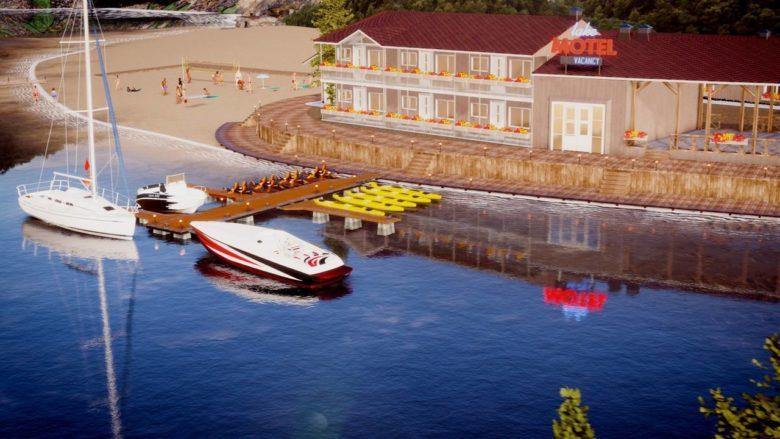 Состоялся анонс симулятора Lake Resort Flipper