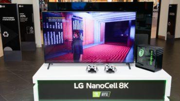 LG предлагает оценить 8K-гейминг в своем фирменном магазине