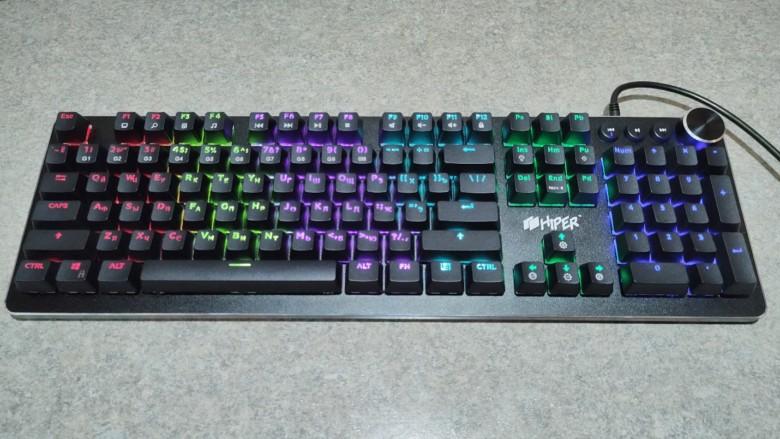 Обзор игровой клавиатуры Hiper MK-5 Pulse – Ничего лишнего
