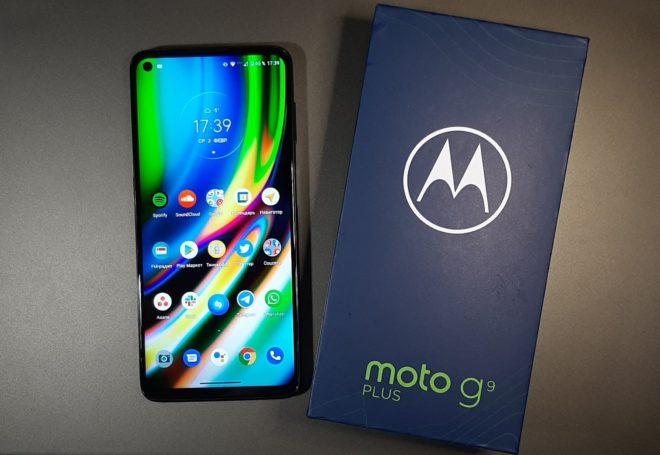 Обзор смартфона Motorola G9 Plus