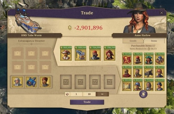 All items unlocked at traders