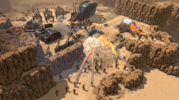 Новые подробности RTS Starship Troopers: Terran Command