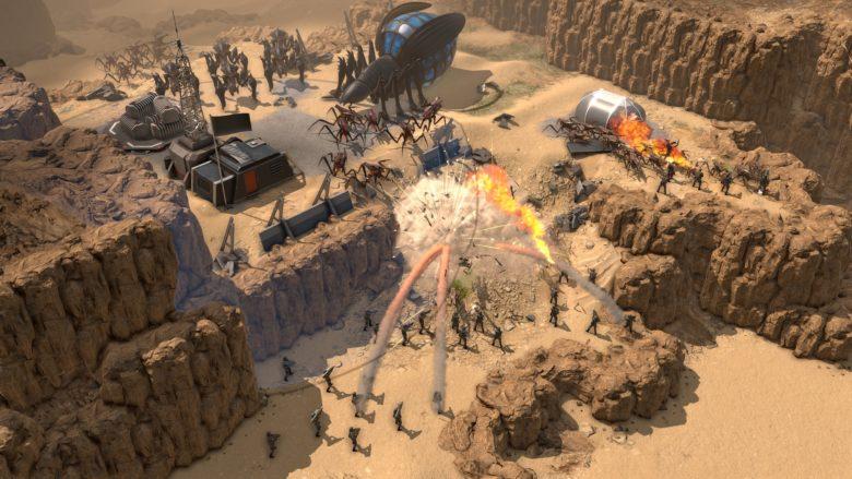 Новые подробности RTS Starship Troopers: Terran Command