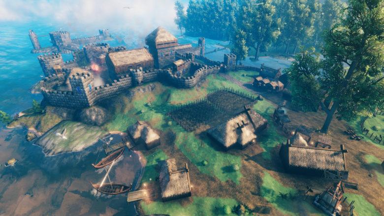 Скандинавская сага Valheim отправилась в ранний доступ