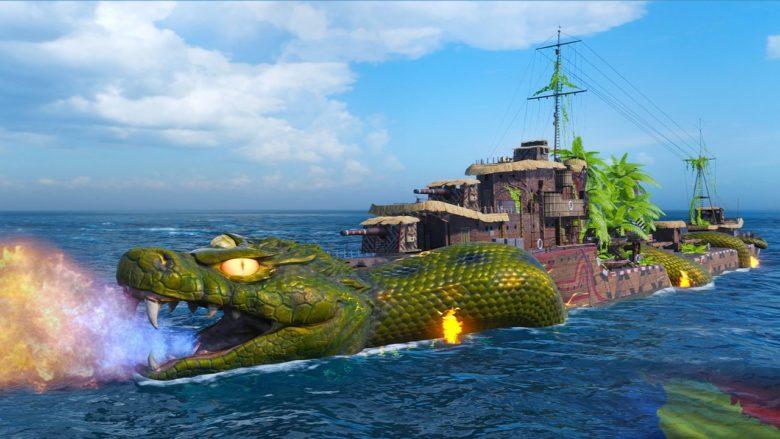 В World of Warships начинается бразильский карнавал