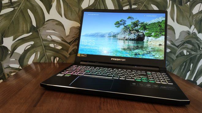 Обзор игрового ноутбука Acer Predator Helios 300 – Не хуже флагманов