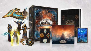 World of Warcraft: Shadowlands – Распаковка коллекционного издания