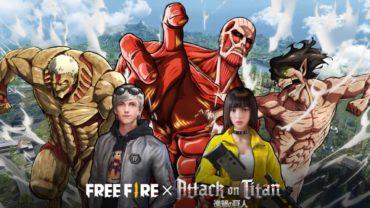 В Free Fire началось событие-кроссовер с «Атакой Титанов»