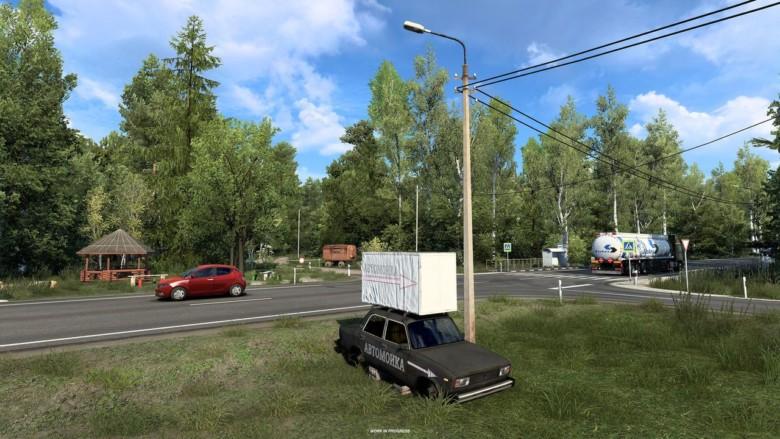 Euro Truck Simulator 2 отправит игроков в «Сердце России»