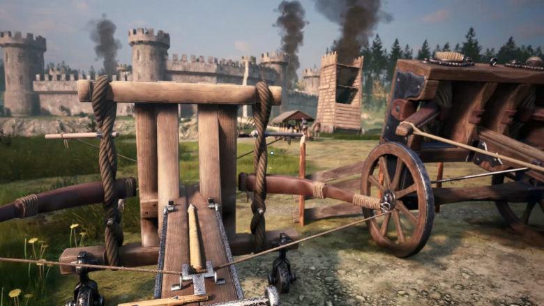 Для изобретателей: Состоялся анонс симулятора Medieval Machines Builder