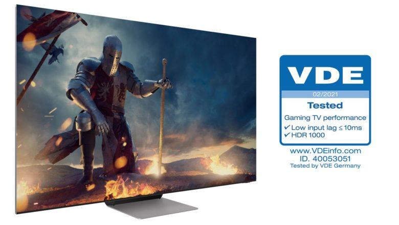 Samsung Neo QLED признаны лучшими телевизорами для игр