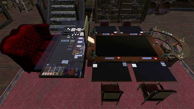 Dungeons & Dragons Table – Tavern Themed