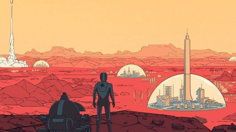 Стратегия Surviving Mars получила бесплатное обновление Tourism