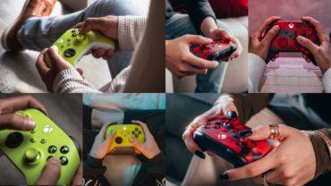 Представлены новые расцветки для геймпадов Xbox