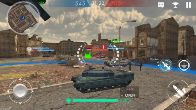 Tank Warfare: PvP Blitz Game
