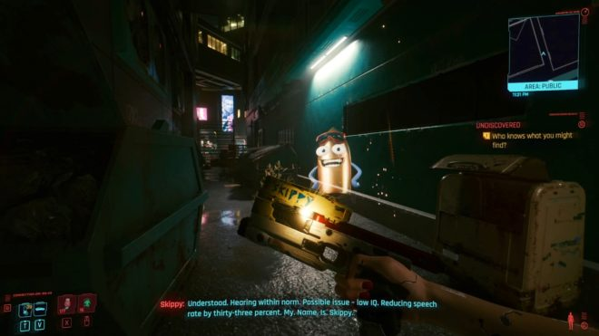 Cyberpunk 2077: секреты и пасхалки