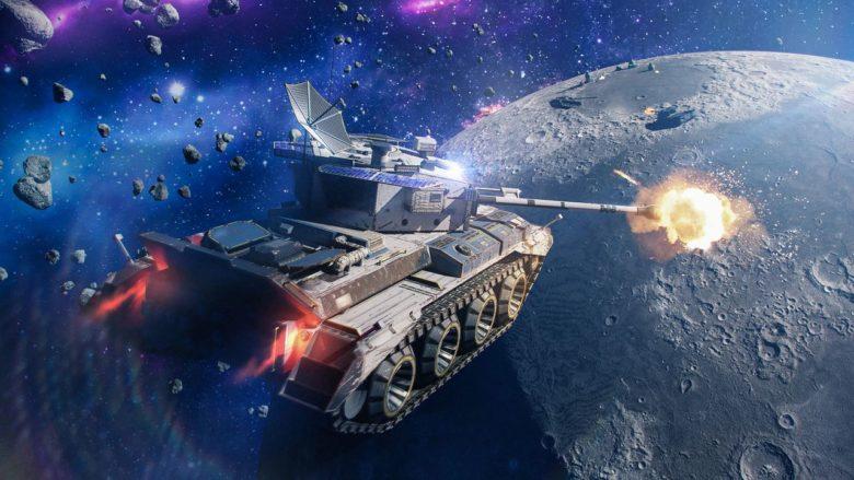 В World of Tanks Blitz вернулся режим «Гравитация»