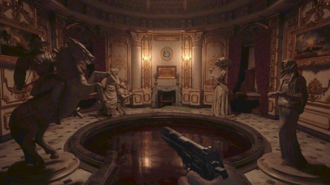 Гайд Resident Evil Village: головоломка в Зале Омовения