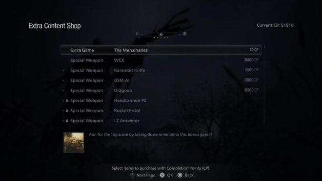 Гайд Resident Evil Village: как открыть режим Mercenaries