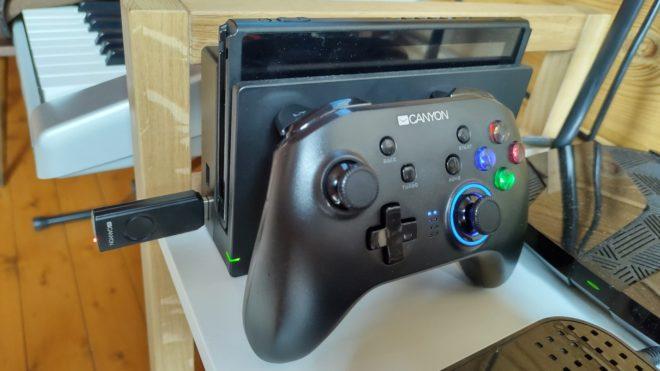 Обзор беспроводного контроллера Сanyon CND-GPW3 – Универсальный компромисс