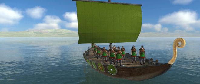 Barbarian Invasion: Naval Battles
