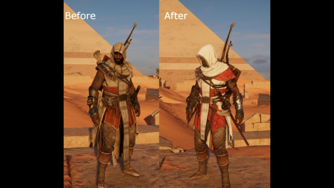 Ornate Assassin Outfit – Egyptian Hedj Replacer