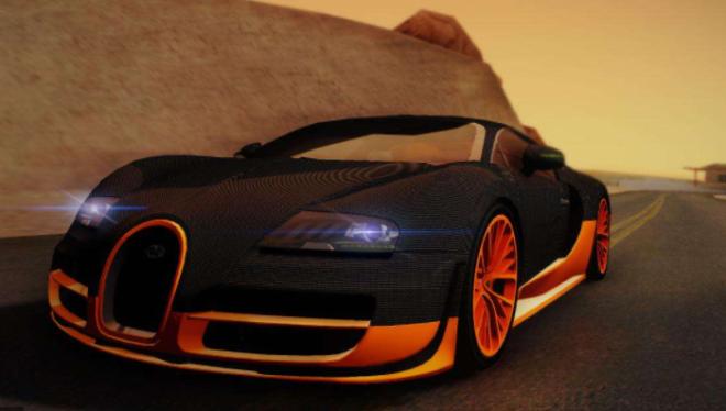 Bugatti Veyron 16.4 Super Sport (World Record Edition)