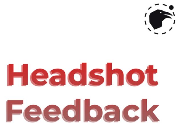 Headshot Feedback