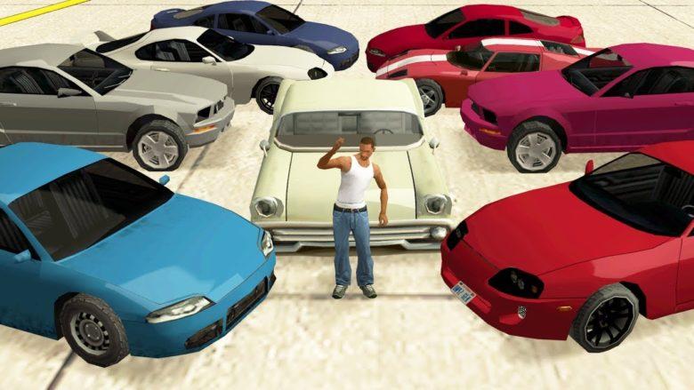 Лучшие моды на машины для GTA: San Andreas