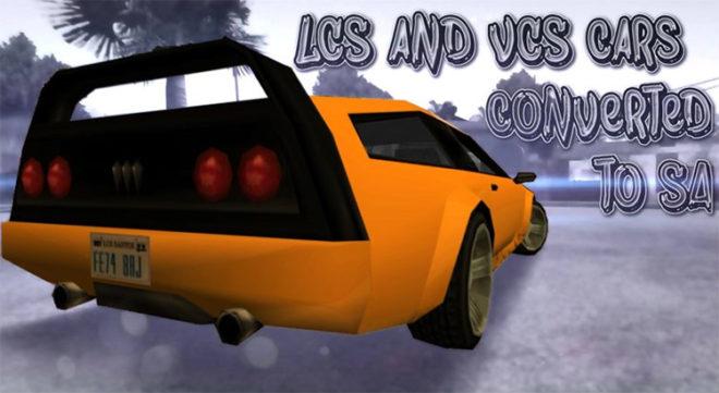 GTA LCS & VCS Cars