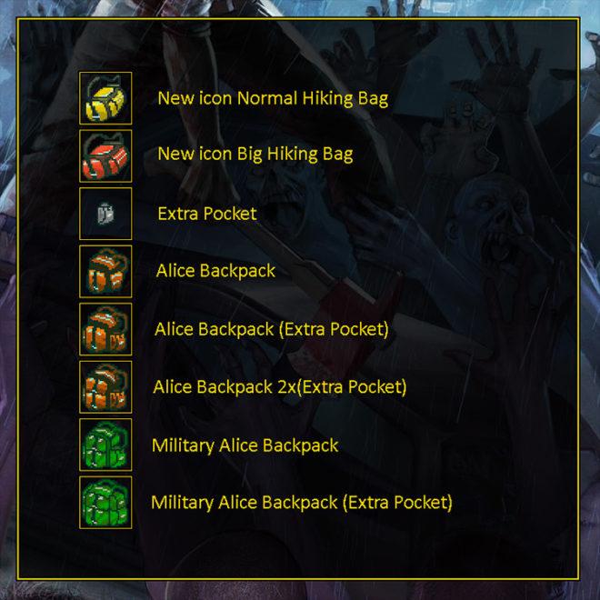 Many Backpacks Mod