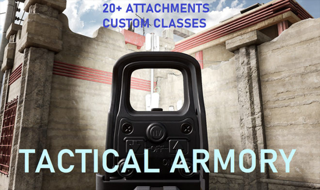 Tactical Armory Insurgency: Sandstorm mod