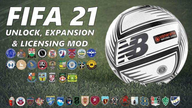 FIFA 21 UEL Mod
